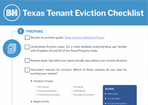 How to Evict a Tenant in Texas: A Tired Landlord's Complete
