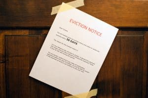 eviction notice - notice to vacate