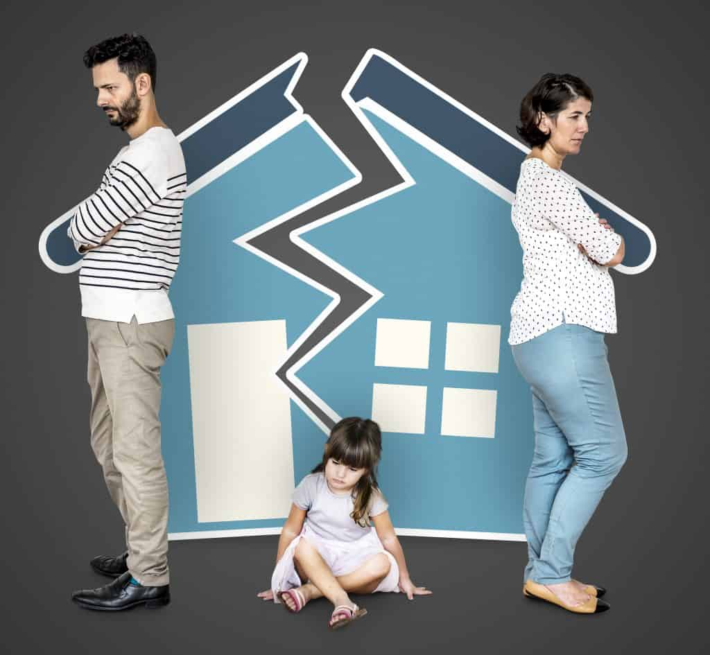 parent who gets custody often gets to keep the house